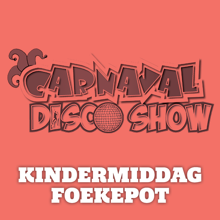 carnaval mill kindermiddag met dj thom